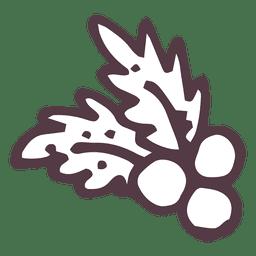 Visco, mão, desenhado, ícone, 32