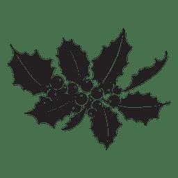 Ícone de silhueta de visco 10