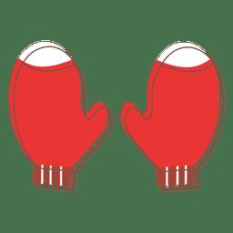 Mittens cartoon icon 74