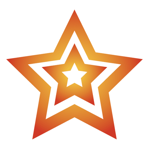 Multi star cartoon 06 - Transparent PNG & SVG vector