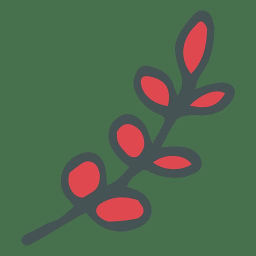 Rama de olivo dibujado a mano icono de dibujos animados 21 Transparent PNG