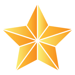 Polygonal star 3d 01
