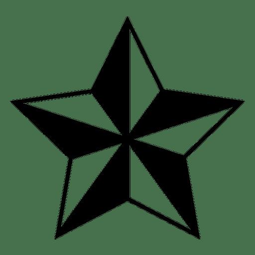 Estrella poligonal 3d 02