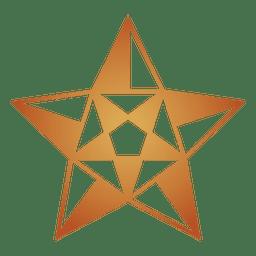 Polygonal star 3d 03