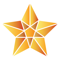 Polygonal star 3d 07