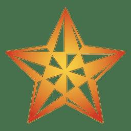Polygonal star 3d 08