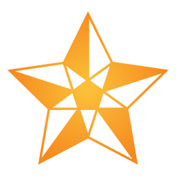 Polygonal star 3d 09