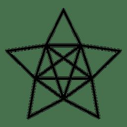 Polygonal star 3d 13
