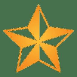 Polygonal star 3d 15