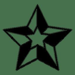 Polygonal star 3d 17