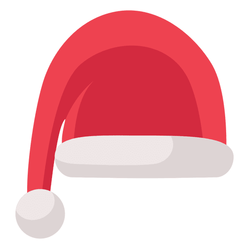 Christmas Hat Transparent.Red Santa Claus Hat Flat Icon 15 Transparent Png Svg Vector