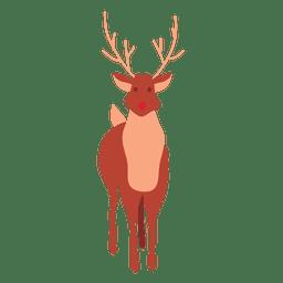 Reindeer cartoon standing 61