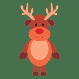 Reindeer cartoon standing 65