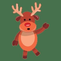 Reindeer cartoon talking 70