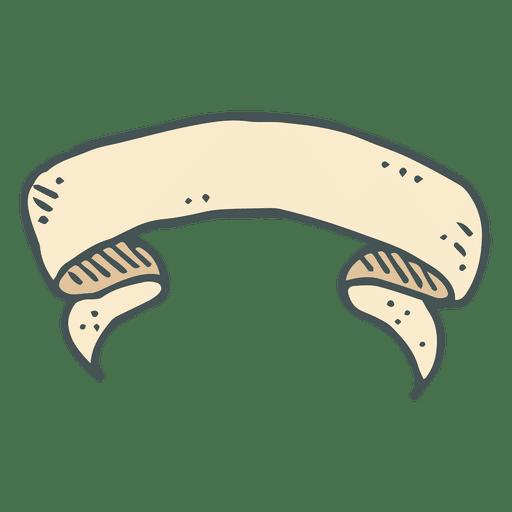 Ribbon hand drawn cartoon icon 11 Transparent PNG