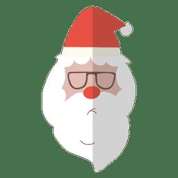 las gafas de sol en la cabeza de Santa Claus 5