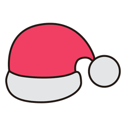 Santa hat cartoon icon 31