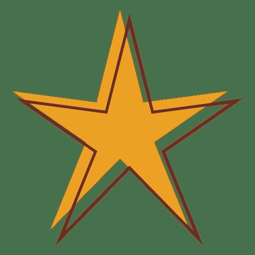 Sharp star cartoon 01