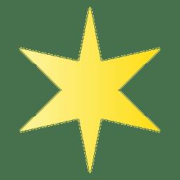 Sharp star cartoon 03