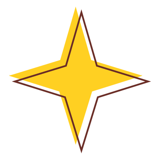 Sharp star icon 05