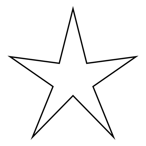 Sharp star stoke icon 01