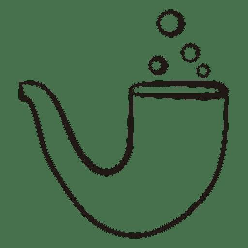 Ícone de traçado de cachimbo 50 Transparent PNG