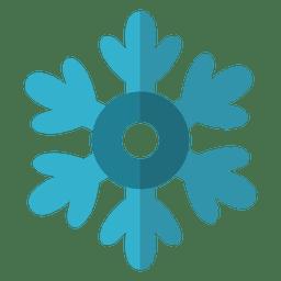 Snowflake flat icon 5