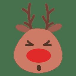 Emoticon de rostos olho de rena 40