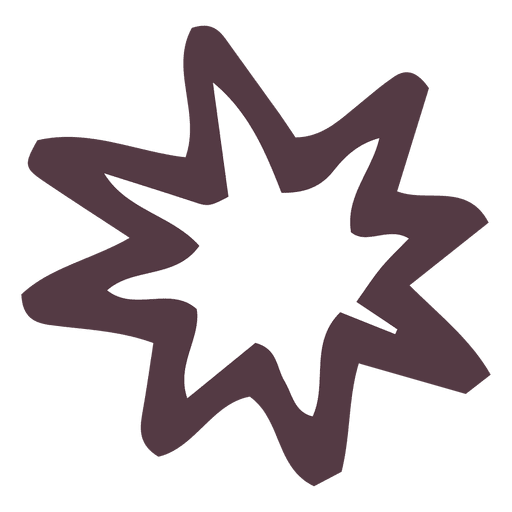Star burst hand drawn icon 42 Transparent PNG