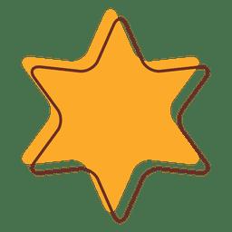 Desenho animado estrela 02