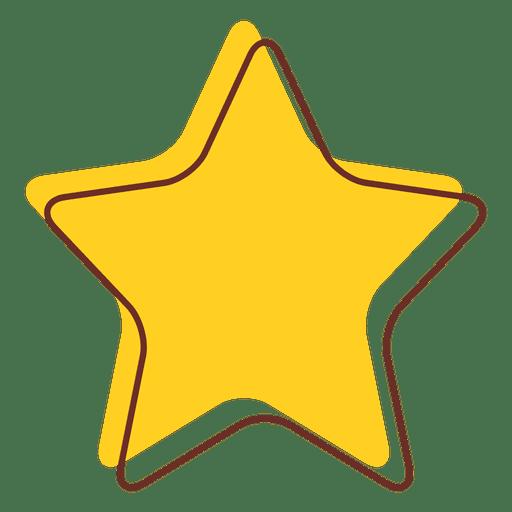 Estrella de dibujos animados 05