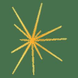 Sternexplosion gelb 6