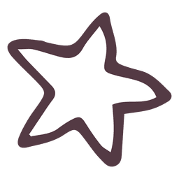 Star hand drawn icon 11