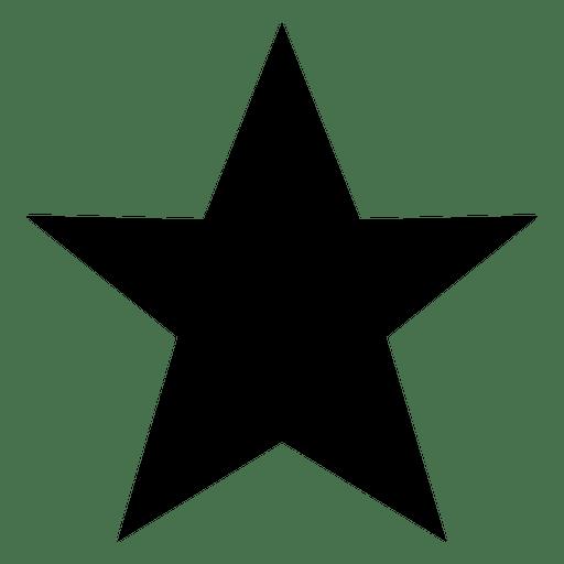Silueta estrella 12