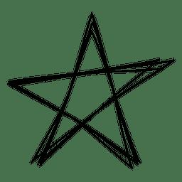 Icono de golpe de estrella 04