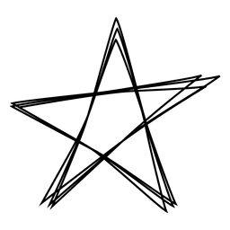 Star stroke icon 04
