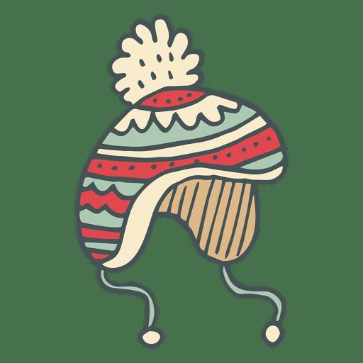 Icono de dibujos animados de invierno trineo dibujado a mano 44 Transparent PNG
