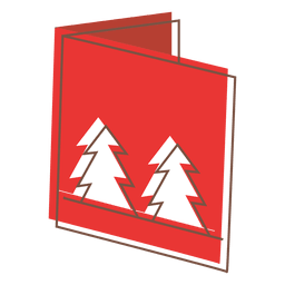 Ícone dos desenhos animados de cartão de inverno 63