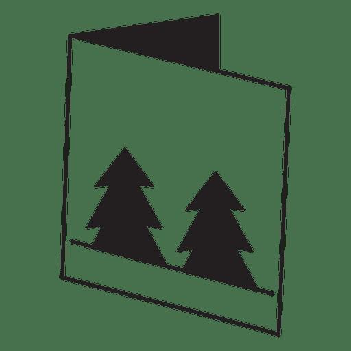 Ícone de cartão de saudação de inverno 28 Transparent PNG