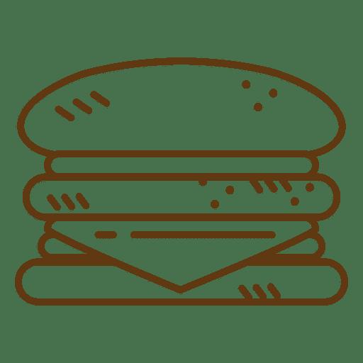 Hambúrguer de fast-food de hambúrguer Transparent PNG