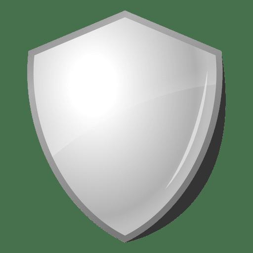 Rótulo de emblema de escudo brilhante 3D Transparent PNG