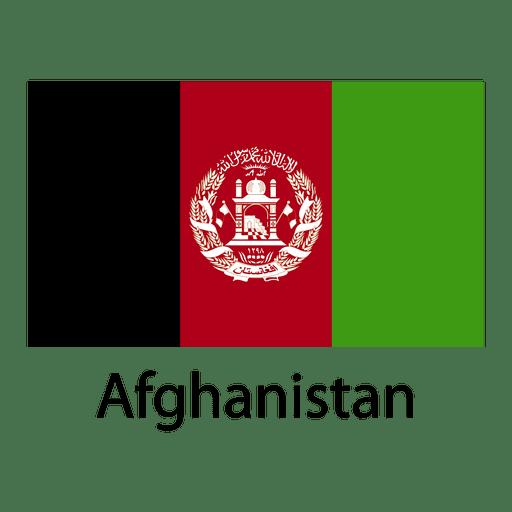 Bandeira nacional do afeganistão