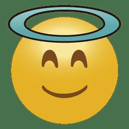 Ángel emoticono emoji