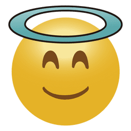 Emoticon de anjo emoji