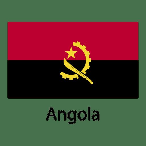 Bandera nacional de angola