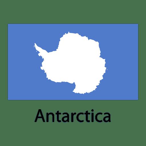 Bandera nacional de la antártida