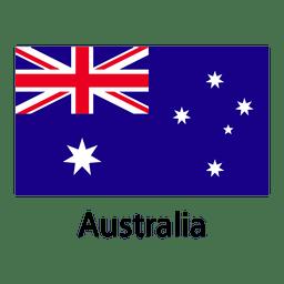 Bandeira nacional da austrália