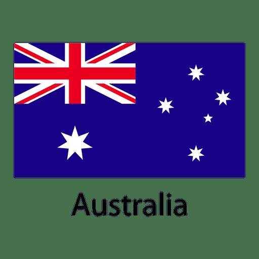 Australia national flag Transparent PNG