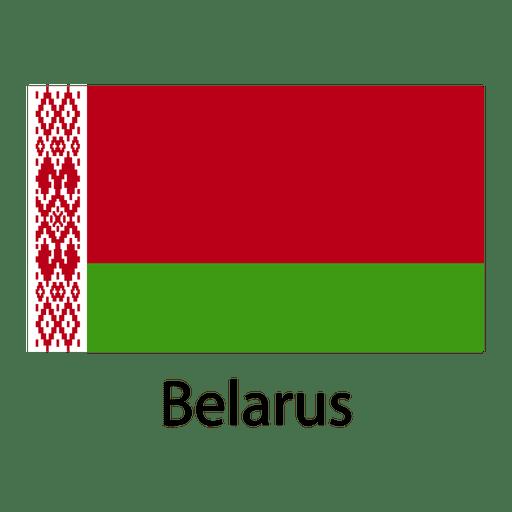 Bandera nacional de bielorrusia