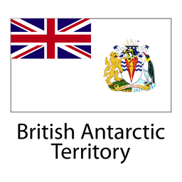 British antarctic territory national flag